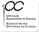 Logo Opticians association of Canada (OAC)