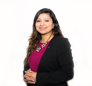 Jaseena Singh, Mortgage Development Manager