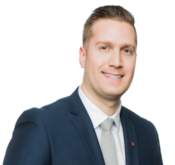 Christopher Lagacé, mortgage advisor in Quebec, comes to you to find a mortgage solution. Make an appointment!