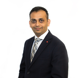 Sachin Patel, Mortgage Development Manager
