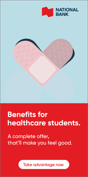 Benefits for healthcare students.
