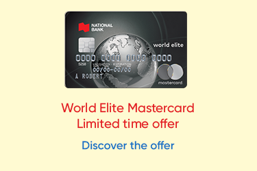 Mastercard World Elite -  Limited time offer