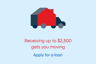Receiving up to $2,500 gets you moving