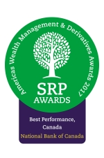 SRP Americas Awards Logo - Best Performance, Canada