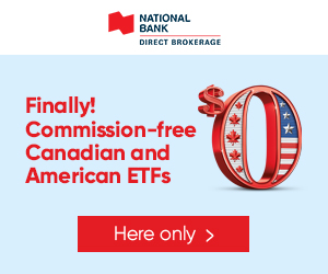 logo Commission-free Canadian and American ETFs